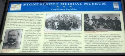 Stonestreet Medical Museum Marker image. Click for full size.