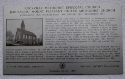 Duplicate Marker on Church Wall image. Click for full size.