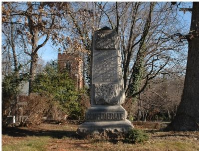 Confederate Dead Monument image. Click for full size.