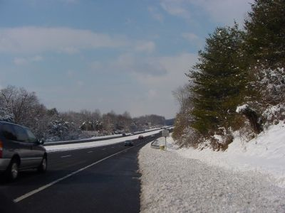 Fairfax County Parkway Approaching Popes Head Road Photo, Click for full size