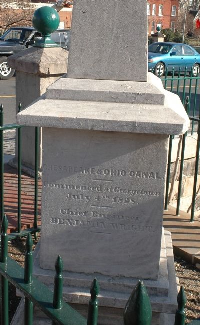 Chesapeake & Ohio Canal Marker image. Click for full size.