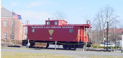 A Washington & Old Dominion Caboose image. Click for full size.