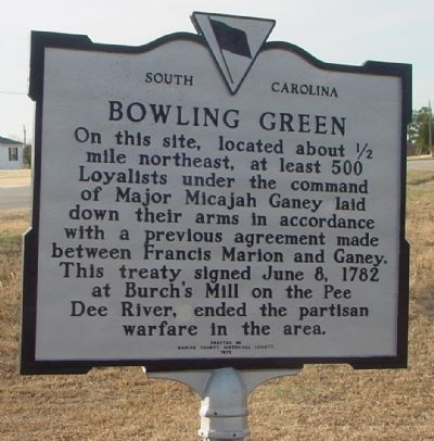 Bowling Green Marker image. Click for full size.