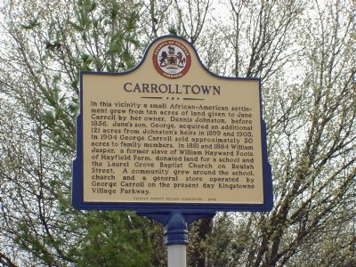Carrolltown Marker image. Click for full size.