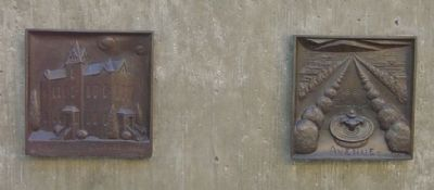 Bronze Reliefs on Pedestal, Back image. Click for full size.