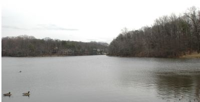 Winter View of Greenbelt Lake image. Click for full size.