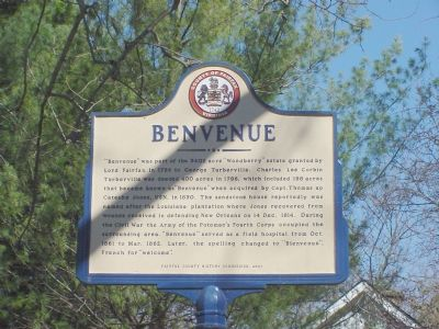 Benvenue Marker Photo, Click for full size