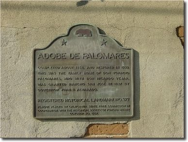 Adobe de Palomares Marker image. Click for full size.
