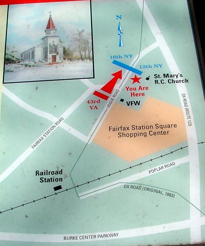 Closeup of the Map Reproduced on the Marker