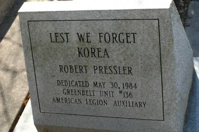 Lest We Forget Korea image. Click for full size.