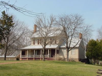 Sully Plantation's Dwelling House Photo, Click for full size