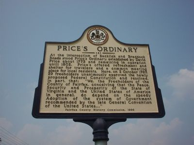 Price's Ordinary Marker Photo, Click for full size
