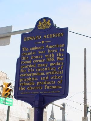 Edward Acheson Marker image. Click for full size.