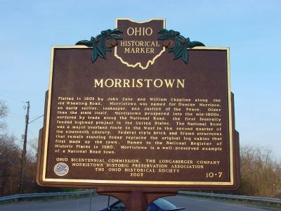 Morristown Marker image. Click for full size.