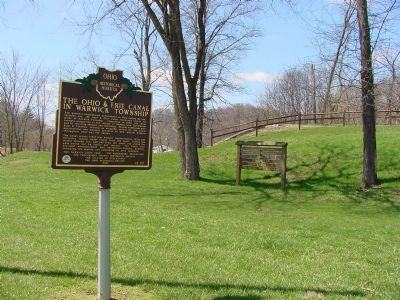 Ohio & Erie Canal Upper Trenton Lock Historic Park image. Click for full size.