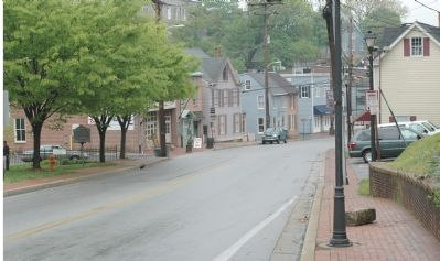 Main Street, Route of the National Road Through Ellicott City image. Click for full size.