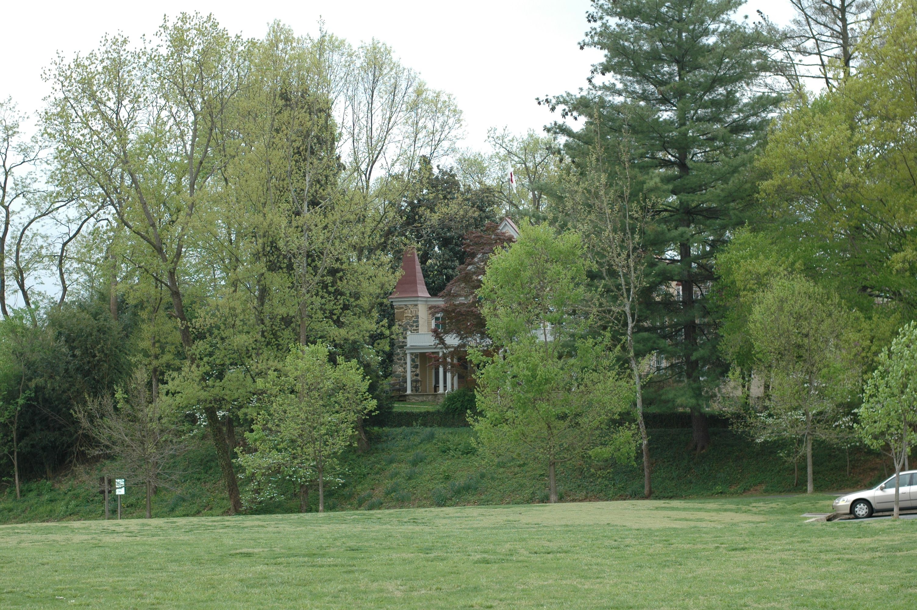 Spring View of the Clara Barton House