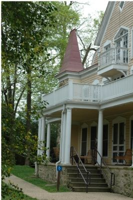 Front Porch, Parapet, and Balcony image. Click for full size.