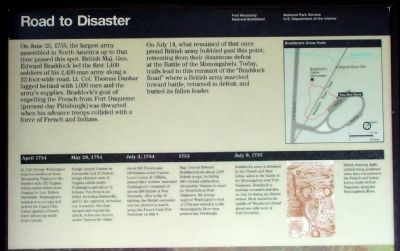Upper Half of Road to Disaster Marker image. Click for full size.