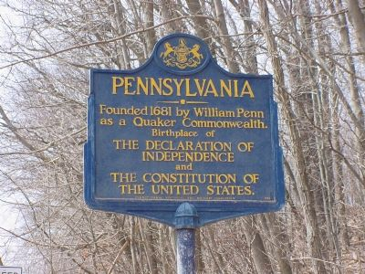 Pennsylvania Marker image. Click for full size.
