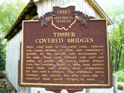 Church Hill Road Bridge Marker, Side 2 image. Click for full size.