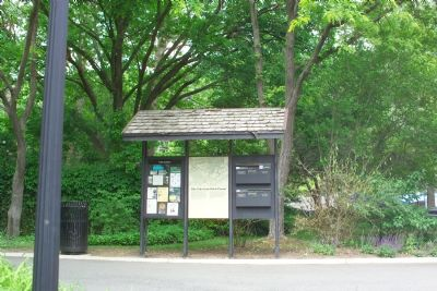 Glen Echo From Past to Present Marker Photo, Click for full size