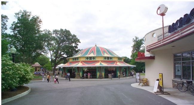 The Dentzel Carousel Photo, Click for full size