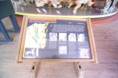 Dentzel Carousel Interpretative Panel Photo, Click for full size