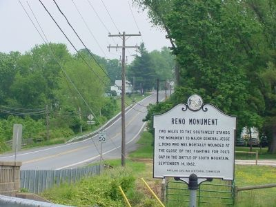 View East of Old National Road Towards Middletown image. Click for full size.