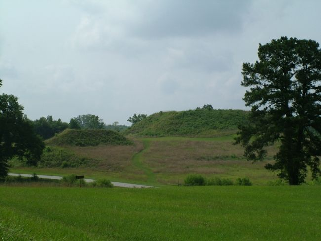 Creek Indian Mound Thousands of Years Old image. Click for full size.