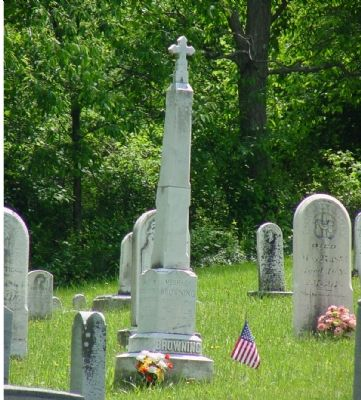 Browning Grave Monument image. Click for full size.