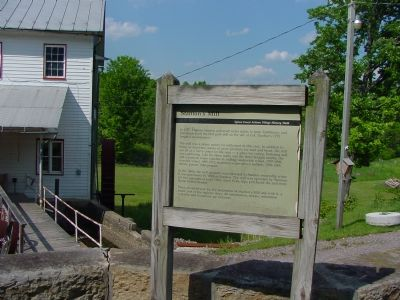 Stanton's Mill and Marker image. Click for full size.