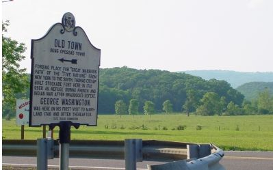 Old Town Marker Photo, Click for full size