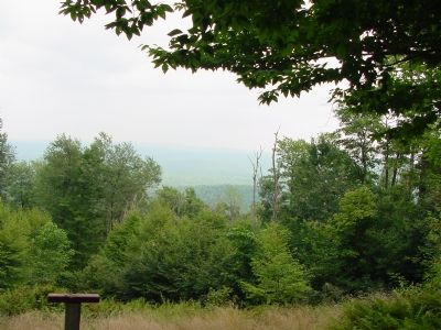 View From Hoye-Crest on a Hazy Day image. Click for full size.