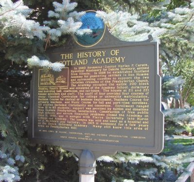 The History Of Scotland Academy Marker image, Click for more information