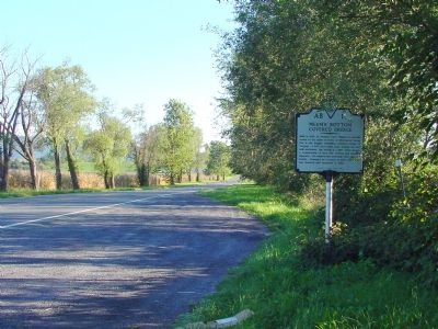 Marker at Pull-Off On Route 11 Photo, Click for full size