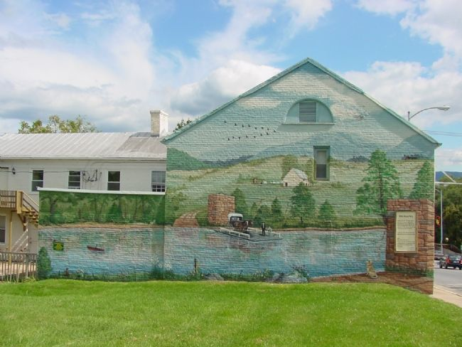 The White House Ferry Mural, by Merle Hilscher image, Click for more information