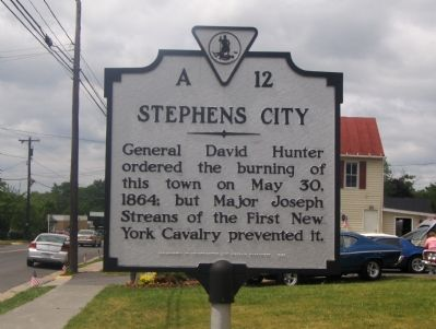 Stephens City Marker image. Click for full size.