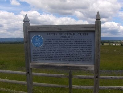 Marker and Battlefield image. Click for full size.