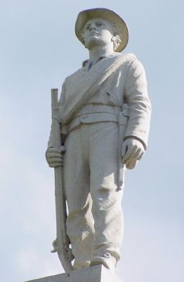 Confederate Soldiers Memorial Statue image. Click for full size.