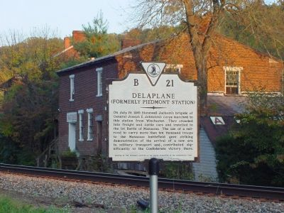 Delaplane Marker Photo, Click for full size