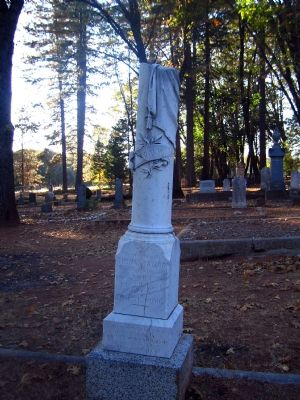 Taylor Tombstone Photo, Click for full size