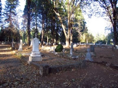 Gravesites Photo, Click for full size