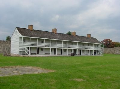 Inside Fort Frederick Photo, Click for full size