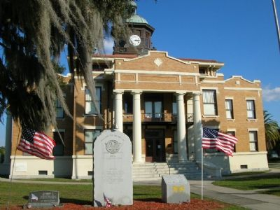 Historic Citrus County Courthouse image. Click for full size.