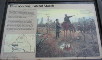 Final Meeting, Fateful March Marker image. Click for full size.