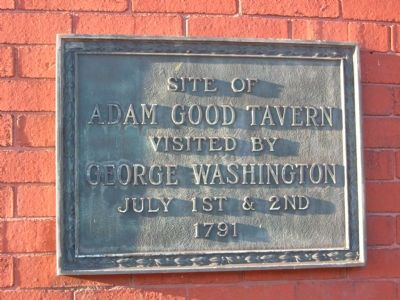 Adam Good Tavern Marker image. Click for full size.