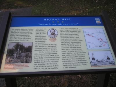 Signal Hill Marker Photo, Click for full size