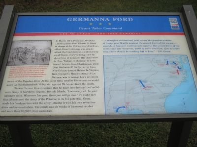 Germanna Ford - Grant Takes Command image. Click for full size.