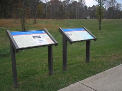Germanna Ford Civil War Trails markers Photo, Click for full size